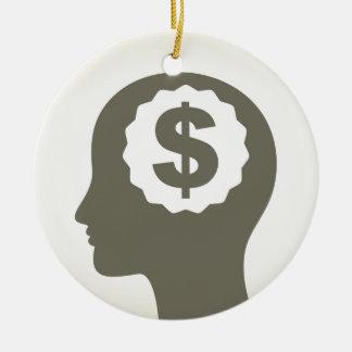 Geschäft ein Kopf Keramik Ornament