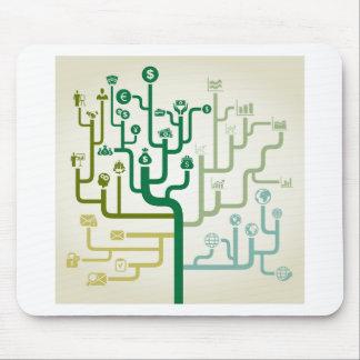 Geschäft ein Labyrinth Mousepad