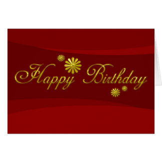 Geschäfts-Geburtstags-Karten-alles Gute zum