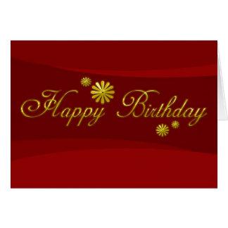 Geschäfts-Geburtstags-Karten-alles Gute zum Karte