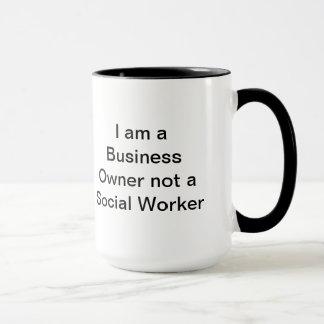 Geschäfts-Humor-Tasse Tasse