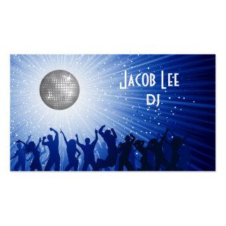 Geschäfts-Karte Party-Leute DJ Visitenkarten