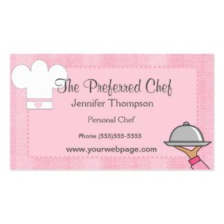 Geschäfts-Karten Damen-Chef Visitenkarten