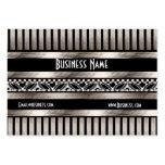 Geschäfts-Karten-Kunst-Deko-SchwarzesSepia Visitenkarten
