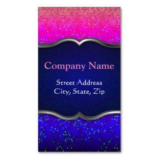 Geschäfts-Karten-Magnet-Glitter-Stern-Staub Magnetische Visitenkarten