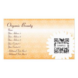Geschäfts-Karten-Schablonen-Bio Schönheit Visitenkarten