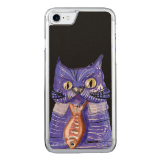 Geschäfts-Katze Carved iPhone 8/7 Hülle