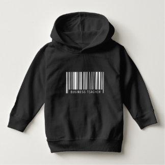 Geschäfts-Lehrer-Barcode Hoodie