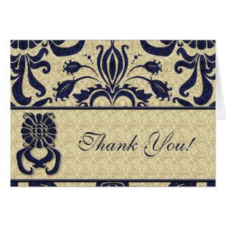 Geschäfts-Logo danken Ihnen Mitteilungskarte