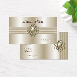Geschäfts-Visitenkarte-elegantes Perlen-Bild Visitenkarte
