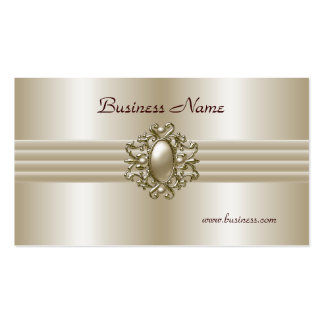 Geschäfts-Visitenkarte-elegantes Perlen-Bild Visitenkarten