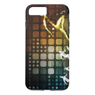 Geschäfts-Wettbewerb mit einer gewinnenden iPhone 8 Plus/7 Plus Hülle