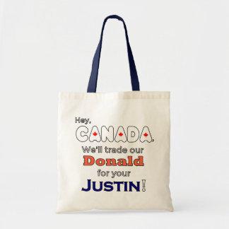 Geschäftsdonald für Justin-Tasche Tragetasche