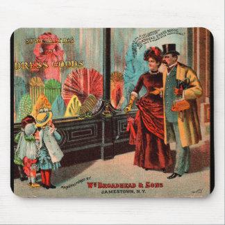 Geschäftskarte William Broadhead u. Söhne kleiden Mousepad