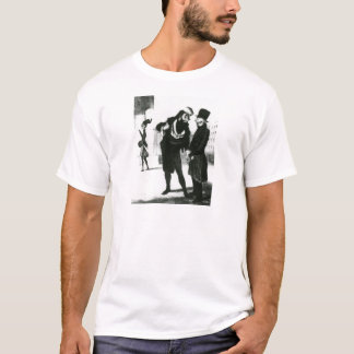 Geschäftsleute Roberts Macaire durch Honore T-Shirt