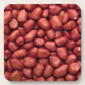 Geschälte Erdnüsse Untersetzer