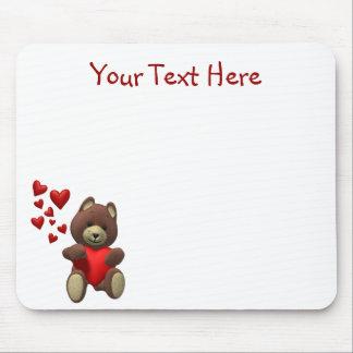 Geschätzter Teddybär - fertigen Sie es besonders a Mousepads