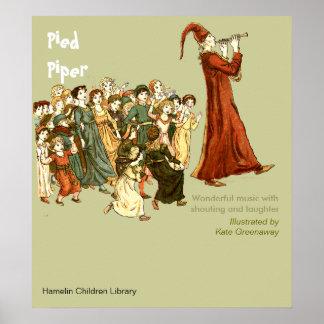 Gescheckter Pfeifer Poster