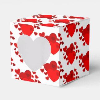 Geschenk-/Bevorzugung Kasten-Valentinsgruß Herzen Geschenkschachtel