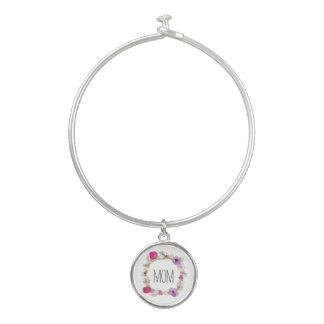 Geschenk-BlumenKranz-Armband der Mutter Tages Armreif