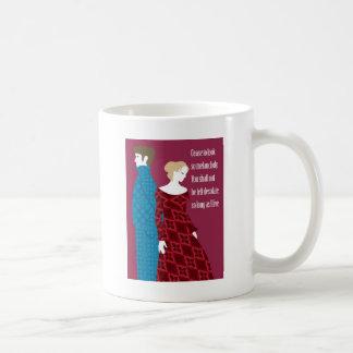 """Geschenk Charlottes Bronte """"Jane Eyre"""" mit Zitat Kaffeetasse"""