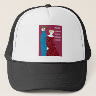 """Geschenk Charlottes Bronte """"Jane Eyre"""" mit Zitat Truckerkappe"""