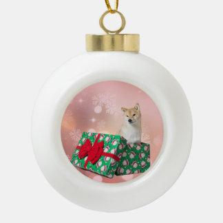 Geschenk der Barkley Keramik-Ball-Verzierung Keramik Kugel-Ornament