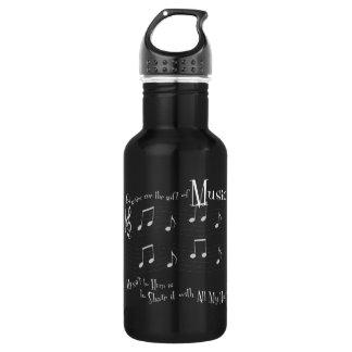 Geschenk-dunkle Wasser-Flasche Trinkflasche