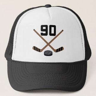 Geschenk Eis-Hockey-Spieler-Jersey-Zahl-90 Truckerkappe