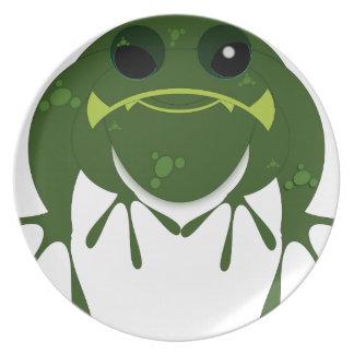 Geschenk-Frosch Teller