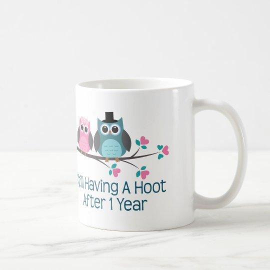 Geschenk Für 1 Hochzeitstag Schrei Kaffeetasse