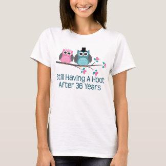 Geschenk für 36. Hochzeitstag-Schrei T-Shirt