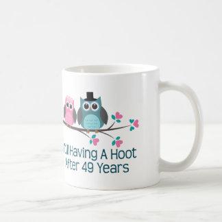 Geschenk für 49. Hochzeitstag-Schrei Tasse