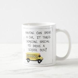 Geschenk für Bustreiber-Tasse - Schoolbus Kaffeetasse