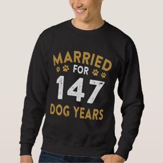 Geschenk für Hundeliebhaber. Kostüm für 21. Sweatshirt