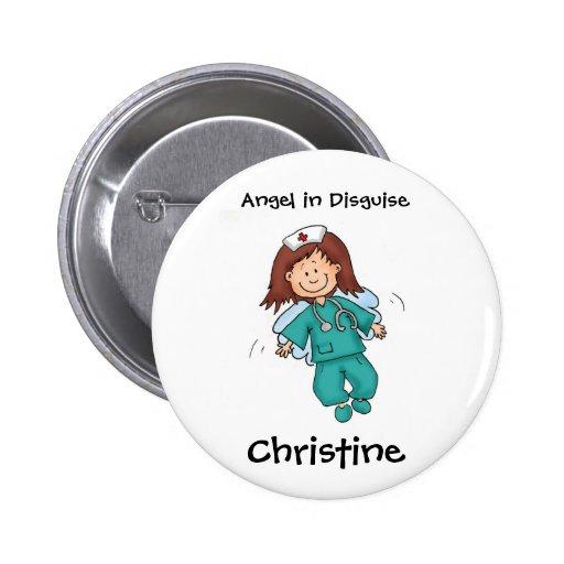 Geschenk für Krankenschwester - personifizieren Si Anstecknadel