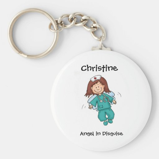 Geschenk für Krankenschwester - personifizieren Si Schlüsselbänder