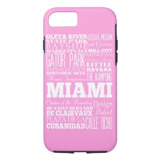 Geschenk-Idee einzigartigen Miamis, Florida iPhone 8/7 Hülle
