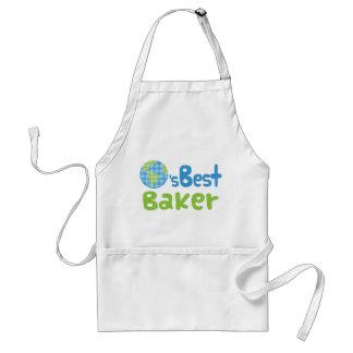 Geschenk-Idee für Bäcker (Welten am besten) Schürze