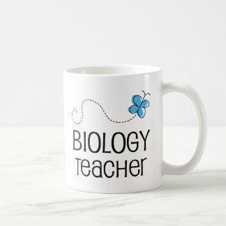 Geschenk-Idee für Biologie-Lehrer (Schmetterling) Kaffeetasse