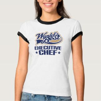 Geschenk-Idee für Führungskraft-Koch (Welten am T-Shirt
