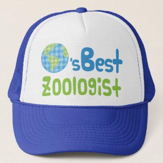 Geschenk-Idee für Zoologen (Welten am besten) Truckerkappe