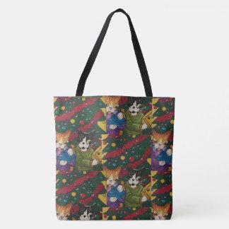 Geschenk-Katzen Tasche