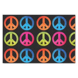Geschenk-Seidenpapier mit Friedenszeichen Seidenpapier