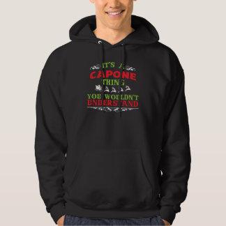 Geschenk-T-Shirt für CAPONE Hoodie