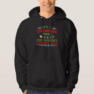 Geschenk-T-Shirt für MEISTER Hoodie