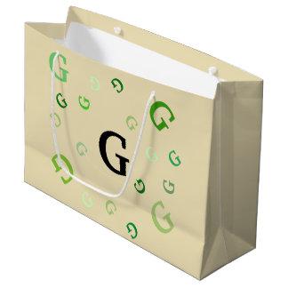 Geschenk-Tasche (Lrg) - durcheinandergebrachte Große Geschenktüte
