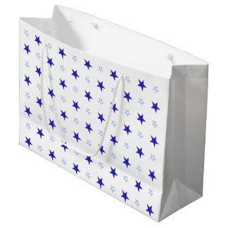 Geschenk-Tasche mit Sternen Große Geschenktüte