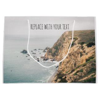 Geschenk-Tasche Nordkalifornien-Küsten-| Große Geschenktüte