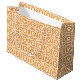 Geschenk-Tasche (Ringelblume) Tatze-für-Geben Große Geschenktüte